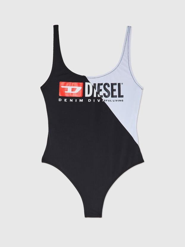 BFSW-FLAMMYCUT, Black/White - Swimsuits