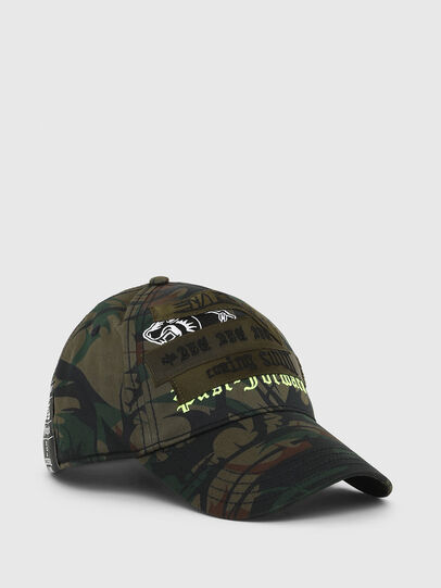 Diesel - C-MIME, Military Green - Caps - Image 1