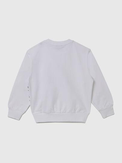 Diesel - SGIRKS1 OVER, White - Sweaters - Image 2