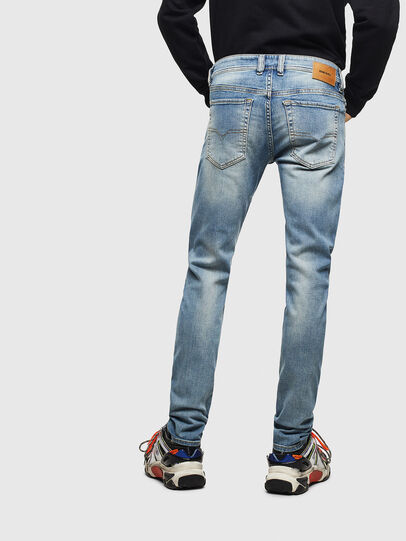 Diesel - Sleenker CN057, Light Blue - Jeans - Image 2
