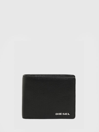 Diesel - HIRESH S, Black/Orange - Small Wallets - Image 1