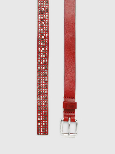 Diesel - B-MINISTUD, Red - Belts - Image 4