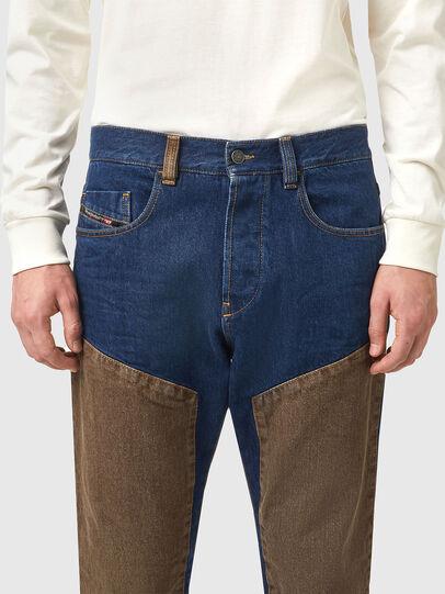 Diesel - D-Viker 0AFAK, Dark Blue - Jeans - Image 3