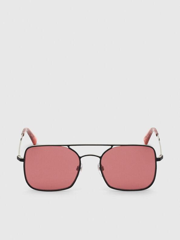 DL0302, Pink/Black - Sunglasses
