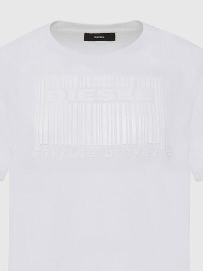 Diesel - T-DARIA-E2, White - T-Shirts - Image 3