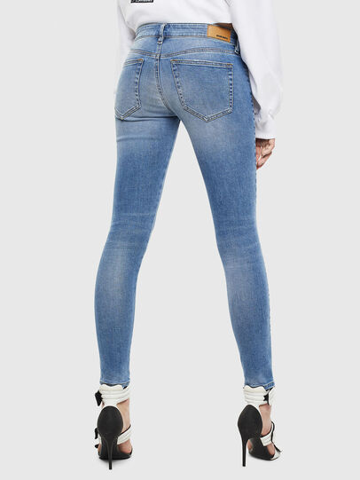 Diesel - Slandy Low 0095B, Light Blue - Jeans - Image 2