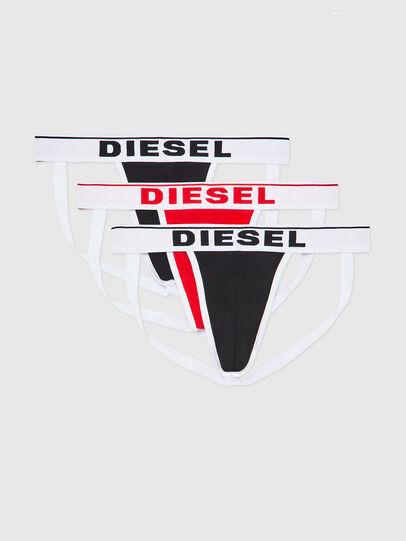Diesel - UMBR-JOCKYTHREEPACK, Black/White - Jockstraps - Image 1