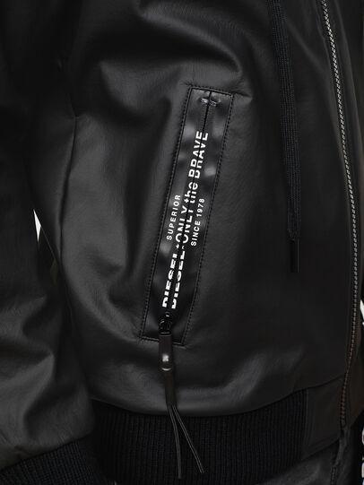 Diesel - S-FILM, Black - Sweaters - Image 5