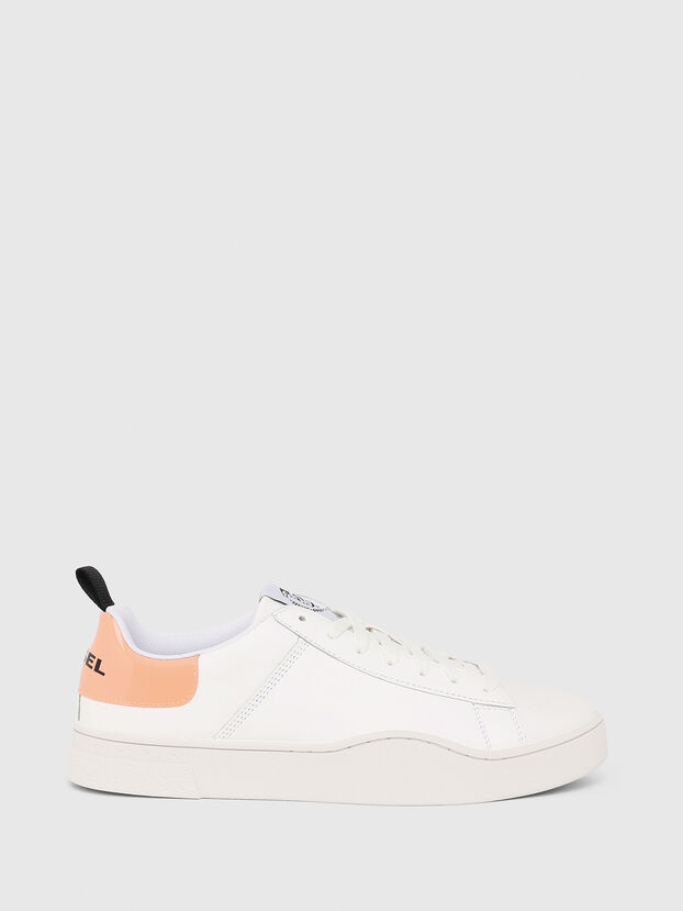 S-CLEVER LOW LACE, White/Pink - Sneakers