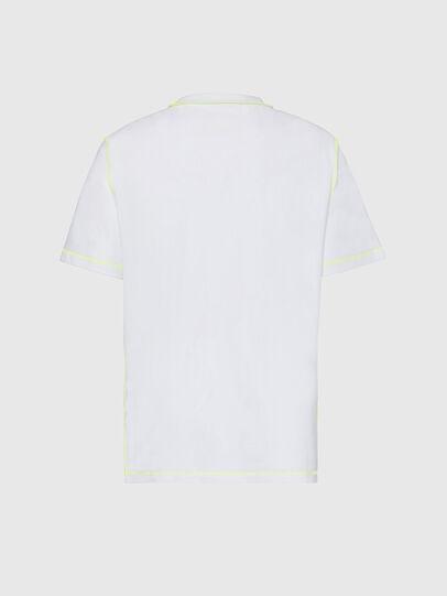 Diesel - T-JUSEAM, White - T-Shirts - Image 2