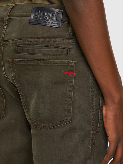 Diesel - D-Fining-Chino 0699P, Military Green - Jeans - Image 5