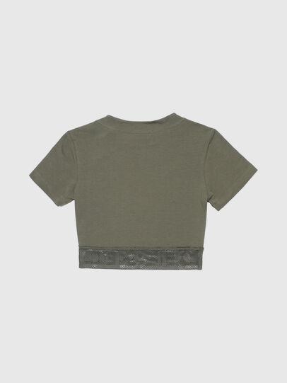 Diesel - UFTEE-GIORGMESH-SV, Military Green - T-Shirts - Image 2