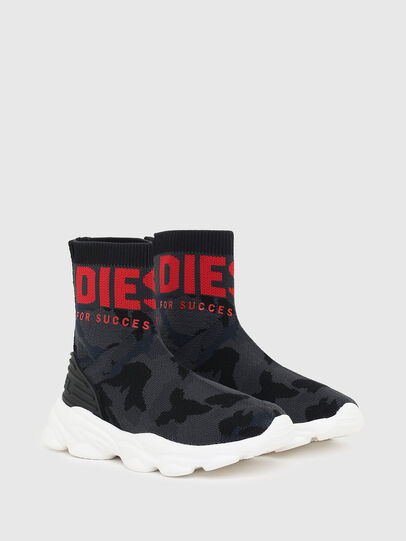 Diesel - S-SERENDIPITY SO MID, Black/Red - Footwear - Image 2