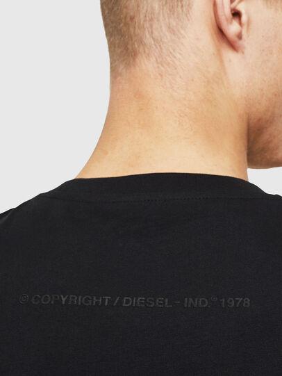 Diesel - T-JUST-T30, Black - T-Shirts - Image 4