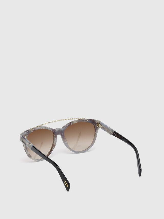 Diesel DM0189, Grey - Eyewear - Image 2