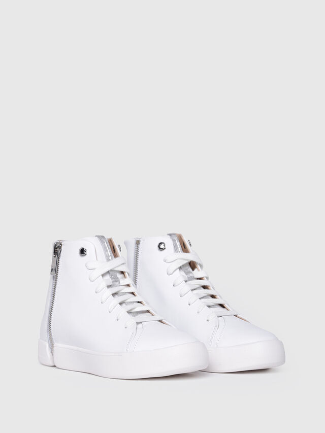 Diesel S-NENTISH MC W, White - Sneakers - Image 2