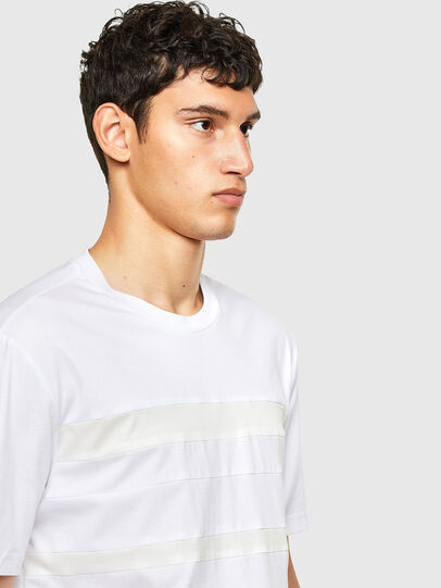 Diesel - T-LOUD, White - T-Shirts - Image 4