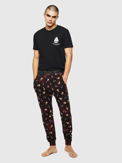 Diesel - UMSET-JAKE-JULIO, Black/Red - Pajamas - Image 1