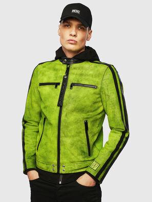 L-BOY-A, Green - Leather jackets