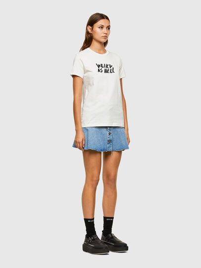 Diesel - T-SILY-E55, White - T-Shirts - Image 5