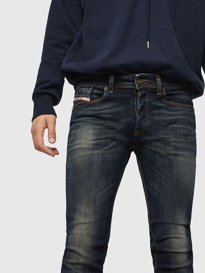 Diesel - Sleenker 069FX, Dark Blue - Jeans - Image 3
