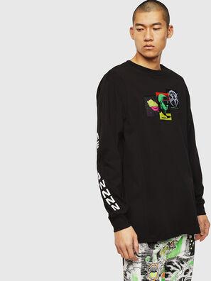 T-GLYNIS-J1, Black - T-Shirts