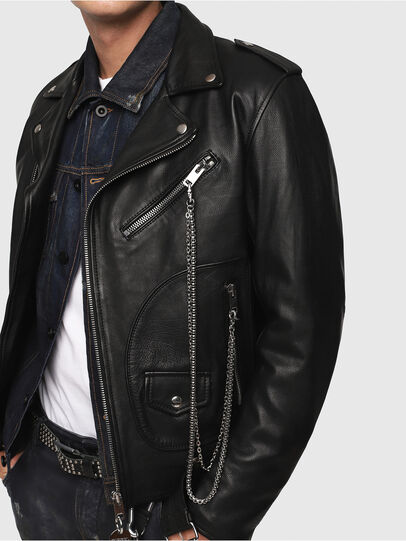 Diesel - CL-L-KIOV,  - Leather jackets - Image 4