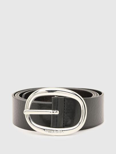 Diesel - B-ISIDE, Black/Grey - Belts - Image 1