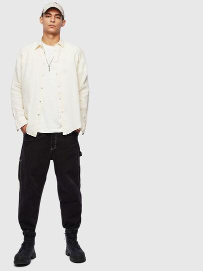 Diesel - S-PLAN-B, White - Shirts - Image 6