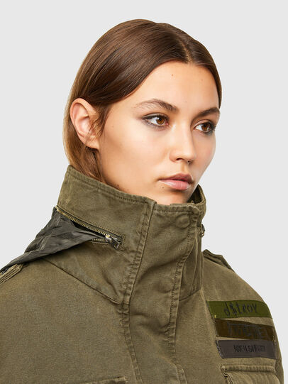 Diesel - G-CHRISTINA, Military Green - Jackets - Image 3
