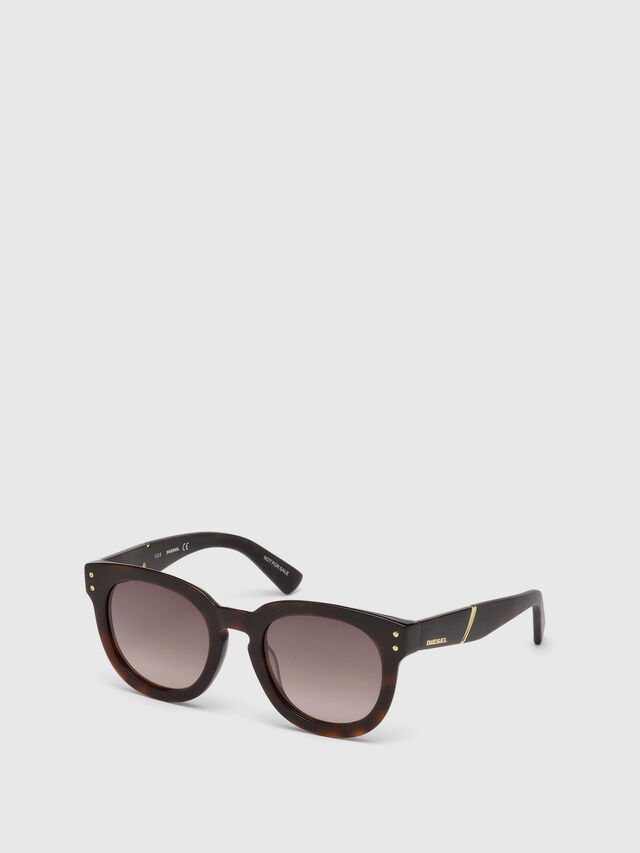 Diesel - DL0230, Brown/Black - Sunglasses - Image 4