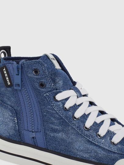 Diesel - S-ASTICO MID ZIP W, Blue Jeans - Sneakers - Image 4