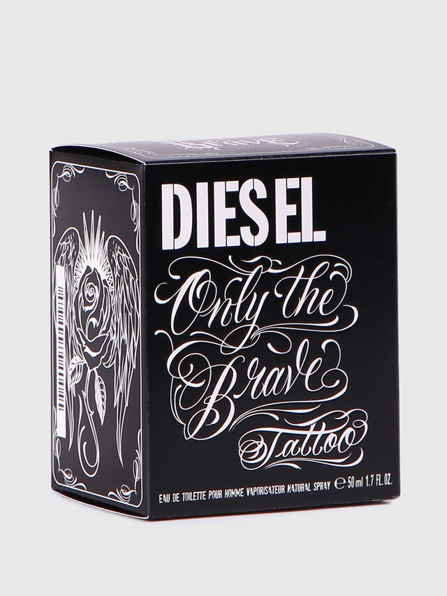 Diesel ONLY THE BRAVE TATTOO 50 ML, Black - Only The Brave - Image 4