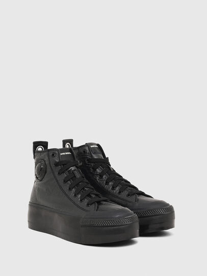 Diesel - S-ASTICO MC WEDGE, Black - Sneakers - Image 2