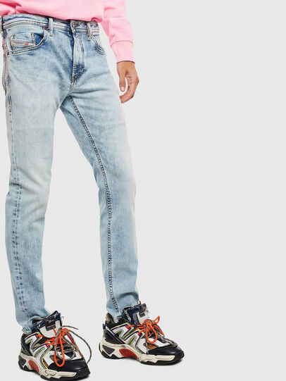 Diesel - Thommer 0096C, Light Blue - Jeans - Image 4
