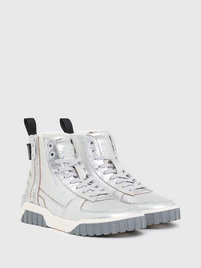 Diesel - S-RUA MC W, Silver - Sneakers - Image 2