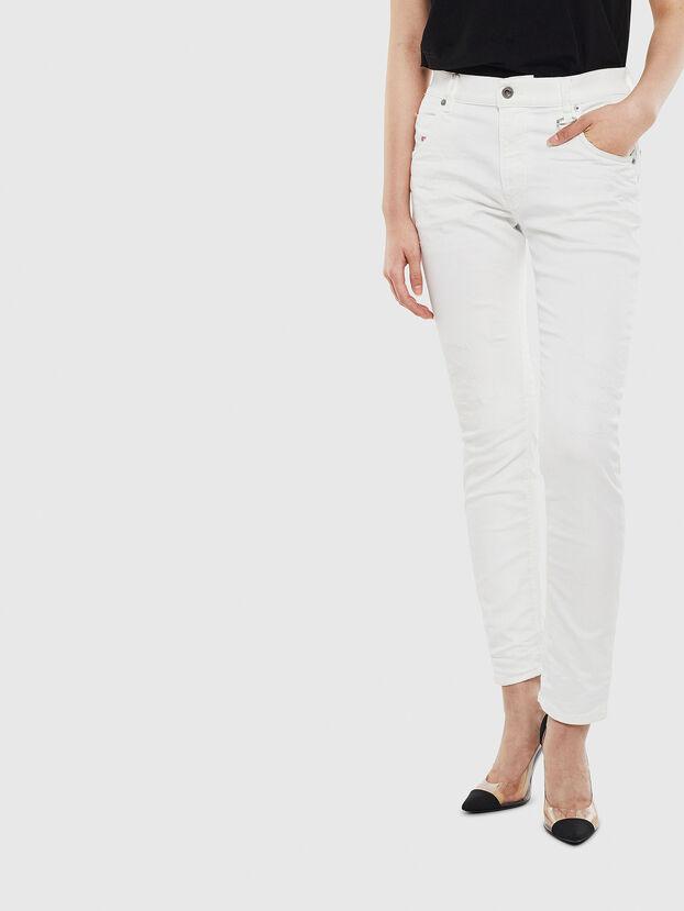 Krailey JoggJeans 069DS, White - Jeans