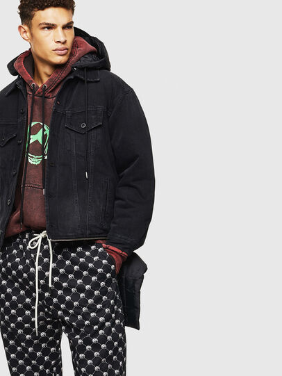 Diesel - D-SHER, Black - Winter Jackets - Image 4
