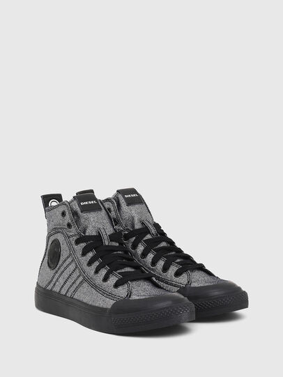 Diesel - S-ASTICO MID LACE W, Grey - Sneakers - Image 2