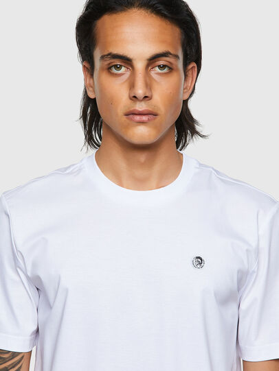 Diesel - T-JUST-ROMOHI, White - T-Shirts - Image 3