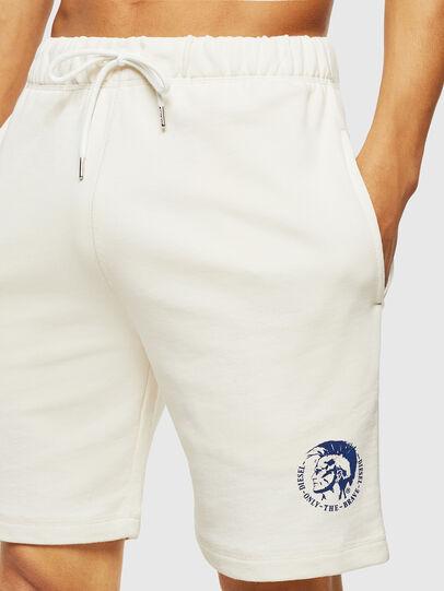Diesel - UMLB-PAN, White/Blue - Pants - Image 4