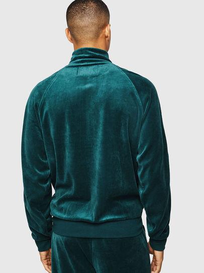 Diesel - UMLT-MAX-CZ, Dark Green - Sweaters - Image 2