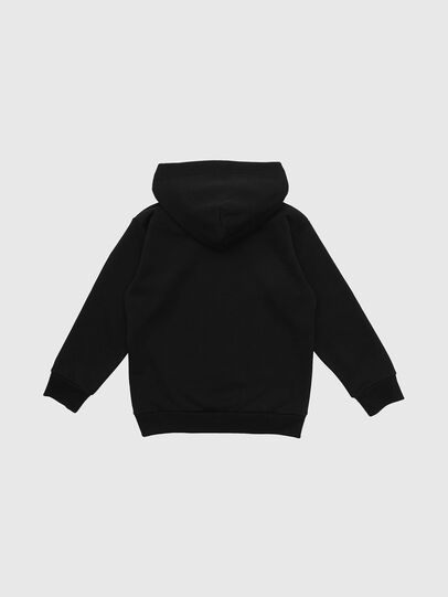 Diesel - SDIVISION-LOGO OVER, Black - Sweaters - Image 2