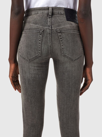 Diesel - Slandy 069XW, Black/Dark grey - Jeans - Image 4
