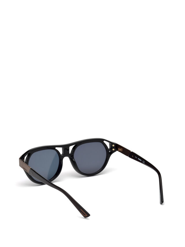 Diesel DL0233, Black - Eyewear - Image 4