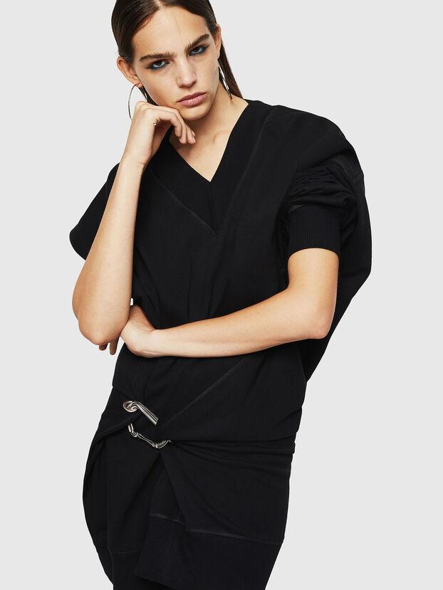 D-KESAR-A, Black - Dresses