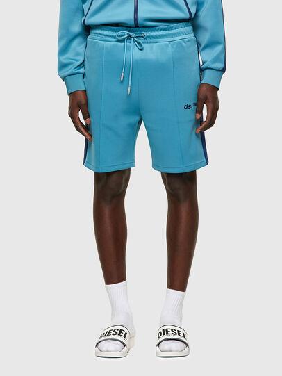 Diesel - P-KURLY, Light Blue - Shorts - Image 1