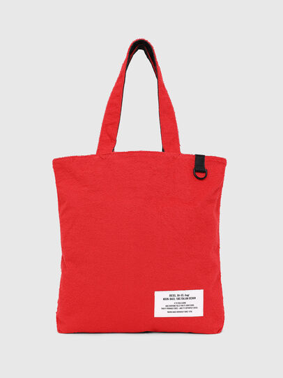 Diesel - F-THISBAG SHOPPER NS, Fire Red - Shopping and Shoulder Bags - Image 1