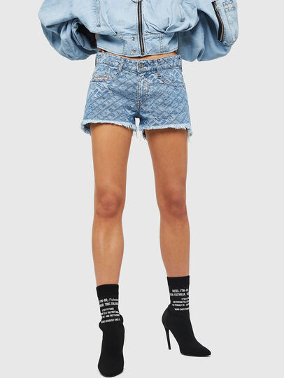 Diesel - DE-RIFTY, Light Blue - Shorts - Image 1