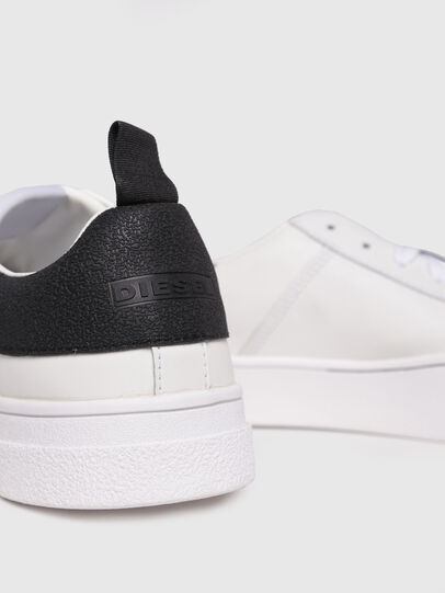 Diesel - S-CLEVER LOW, White/Black - Sneakers - Image 4
